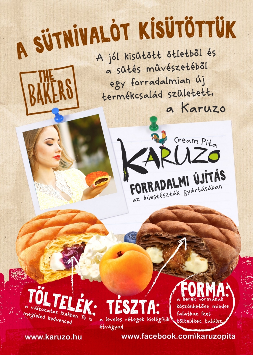 Karuzo Cream pita